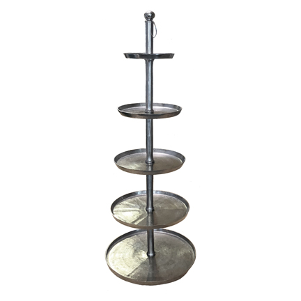 5-Tier Silver Stand