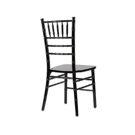Chairs, Chiavari Chair - Black