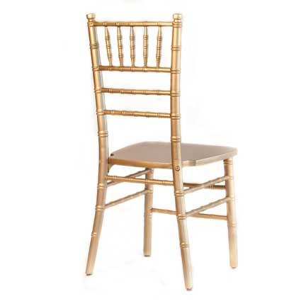 Chairs, Chiavari Chair - Gold