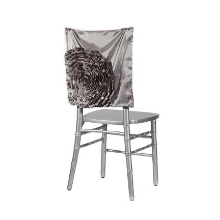 Embellishments, Steel Dahlia Chair Back