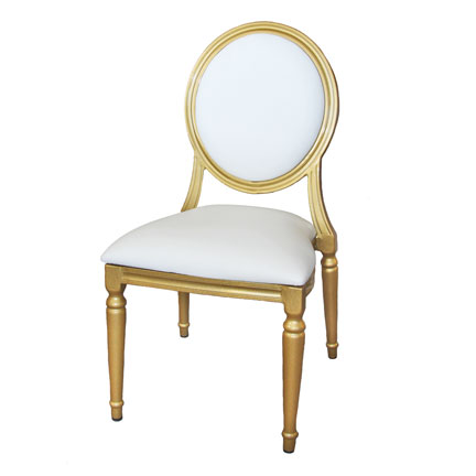 Chairs, Gold Louis