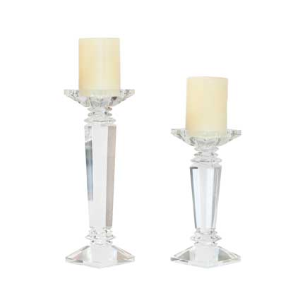 Marquis Crystal Candlesticks