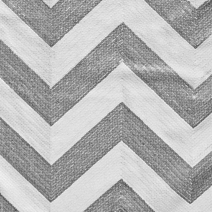 Runner, Sequin Chevron Silver