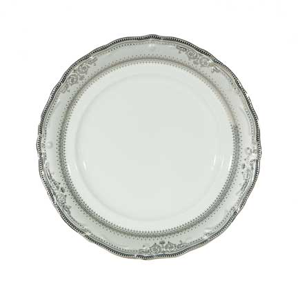 Charger Plate, Vanessa Platinum