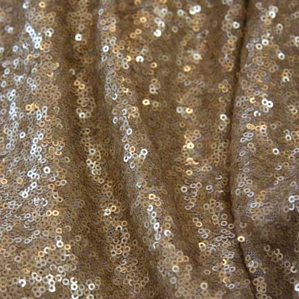 Runner, Soft Gold Sequins