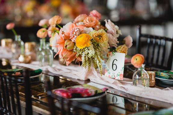 Joyfully Colorful Wedding at Hope Glen Farm | Linen Effects Wedding,  Party, and Event Rental Decor located in Minneapolis, MN. | www.lineneffects.com | Photo by Erin Johnson Photography