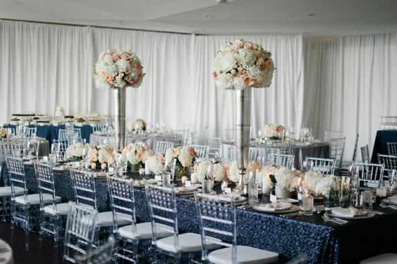 Romantically Modern Walker Wedding at Walker Art Center. Linen Effects Wedding, Party, and Event Rental Decor located in Minneapolis, MN. Photo by Melissa Oholendt Photography